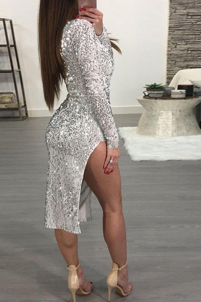 Rochie Esperanza Silver X02222