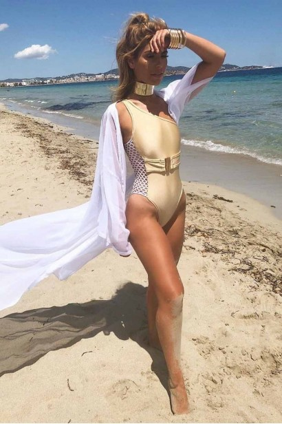 Costum de baie intreg Exquisite Gold  - 3