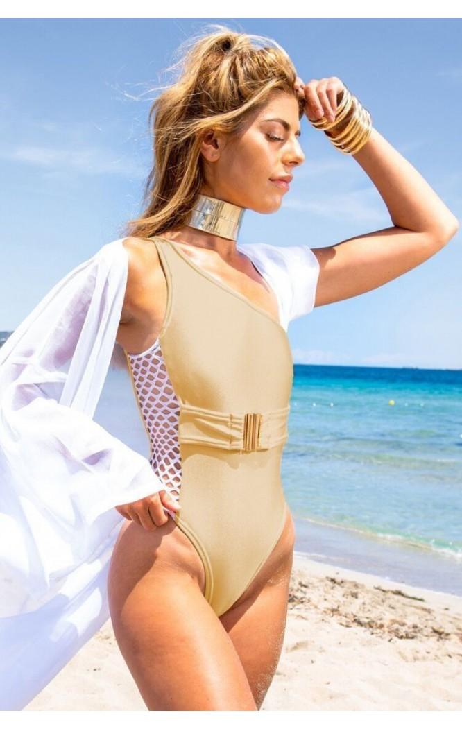 Costum de baie intreg Exquisite Gold  - 1