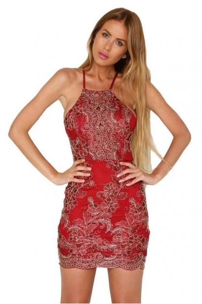 Rochie Luxury Regina Red L00559