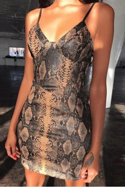 Rochie Snake Skin S10000  - 1