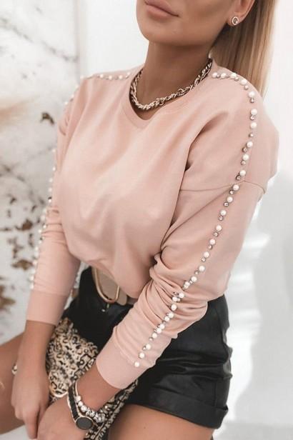 Bluza Scarlet Pearls - Pink  - 1