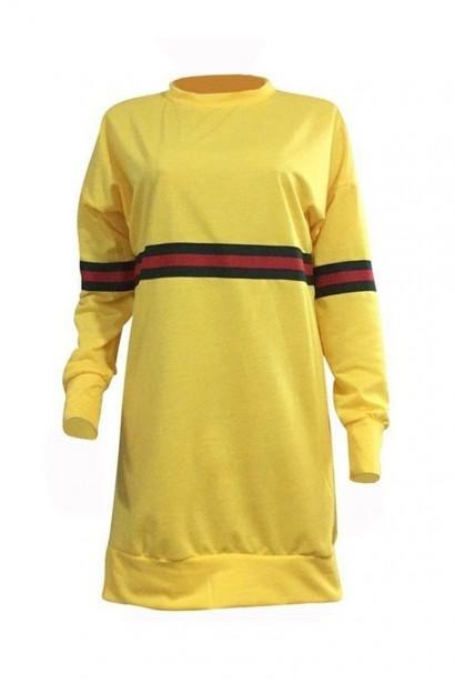 Rochie Porscha Yellow SS0001  - 1