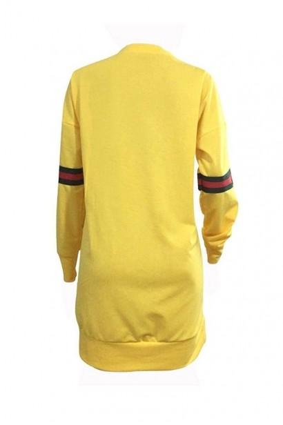 Rochie Porscha Yellow SS0001  - 3