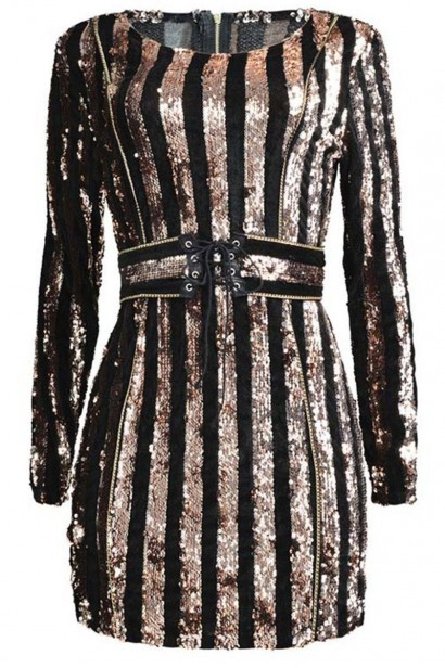 Rochie Exclusive Rose Gold X00991  - 4