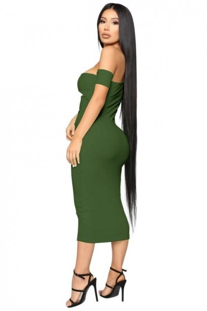 Rochie Army Green S8003  - 1